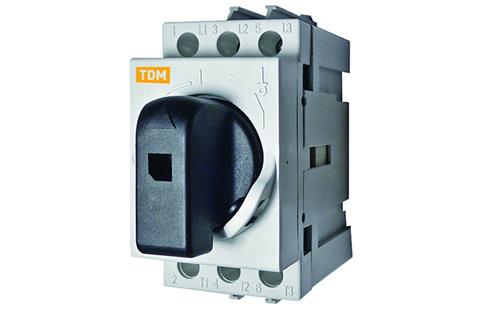 Рубильник модульный РМ-16 3П 16A TDM