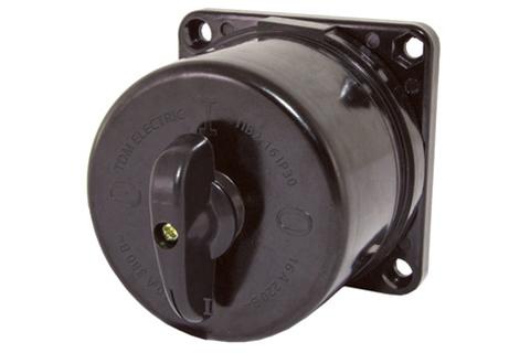 Пакетный выключатель ПВ2-16 2П 16А 220В, карболитовый корпус, IP30 TDM