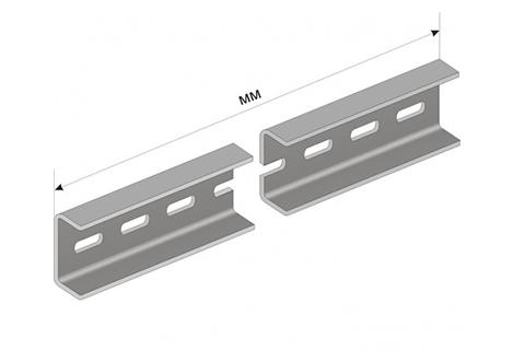 Монтажная панель для ВРУ 50х450мм перфорированная TDM