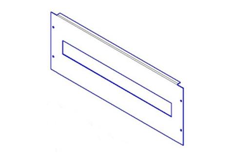 Фальш-панель для ВРУ 150х450мм с вырезом TDM