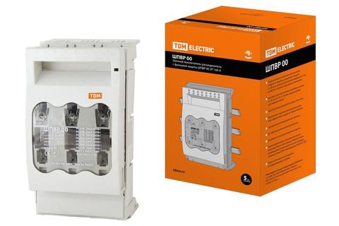 Шинный выключатель-разъединитель с функцией защиты ШПВР 00 3П 160A TDM