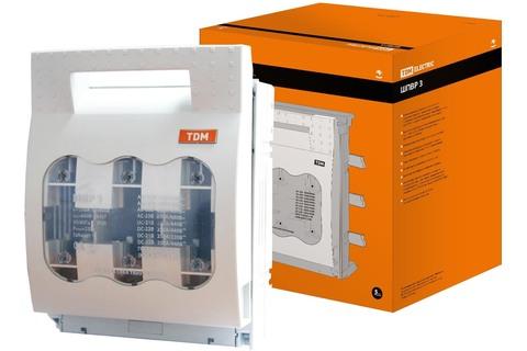 Шинные выключатель-разъединитель с функцией защиты ШПВР 3 3П 630A TDM
