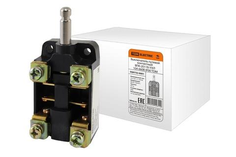 Выключатель путевой контактный ВПК-2011Б-УХЛ 10А 660В IP00 TDM