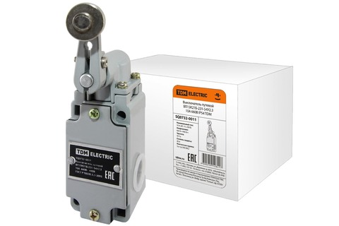 Выключатель путевой ВП15K21Б-231-54У2.3 10А 660В IP54 TDM