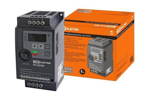 Преобразователь частоты ПЧ-02H20 230В 2,2кВт TDM