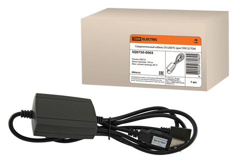 Соединительный кабель СК-USB PC (для ПЛК12) TDM